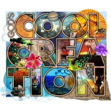 God's Cool Creation iron-on transfer